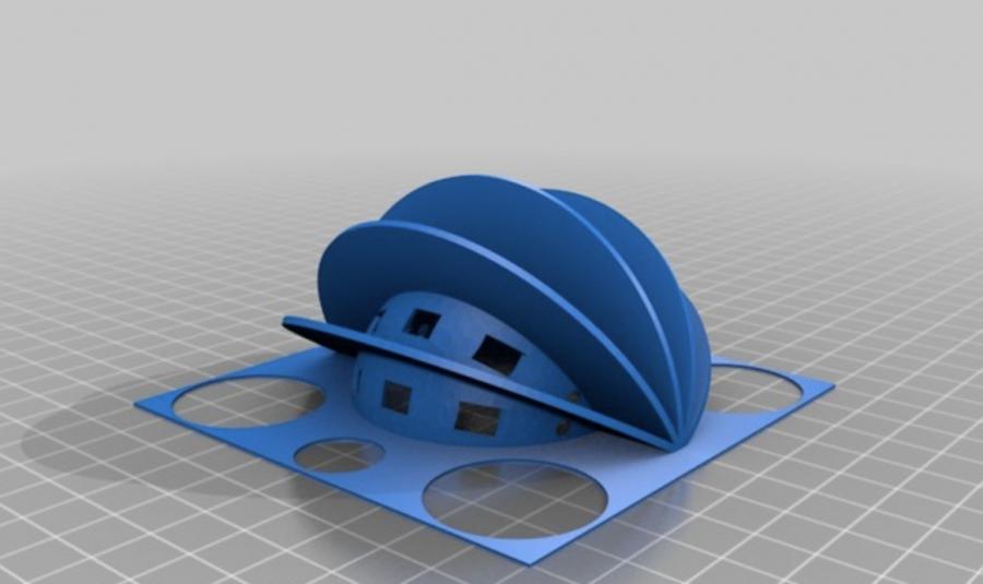 Vnitřní konstrukce Arduino hodin, které ukazují měsíční fázi