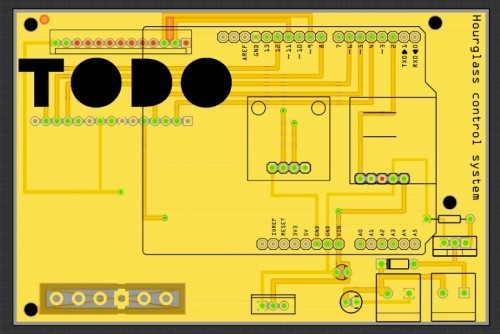 Arduino hodiny shield