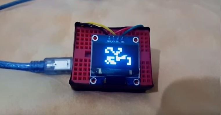 Arduino Celulární automat Hra života