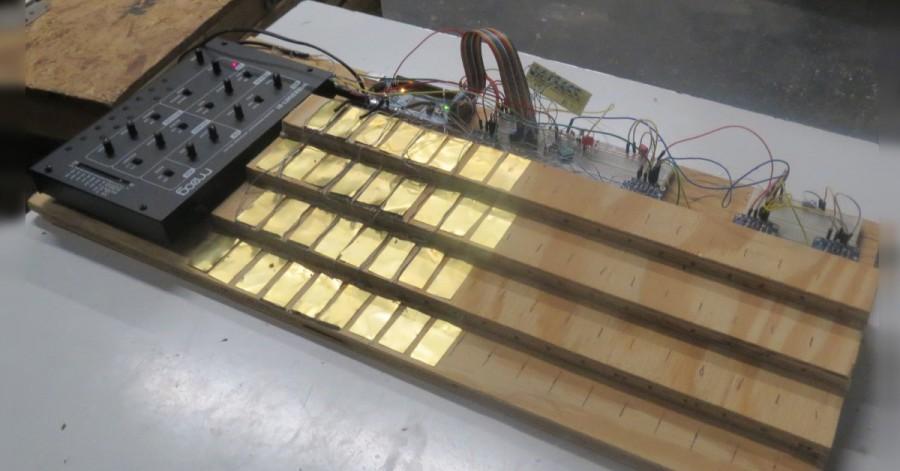 Arduino keyboard Janko
