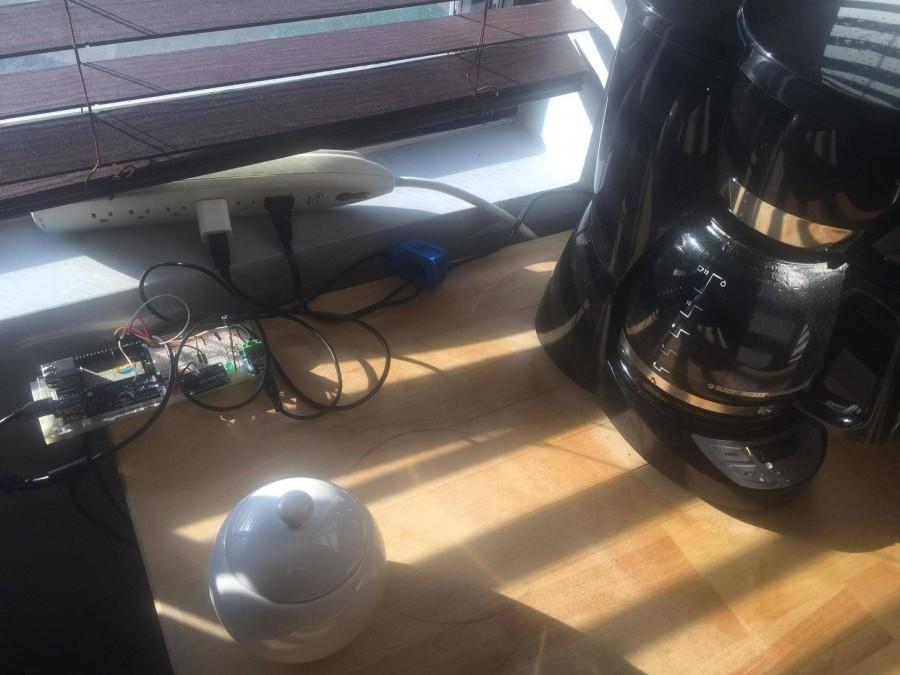 arduino upozornění na hotovou kávu