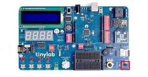Arduino TinyLab - teploměr