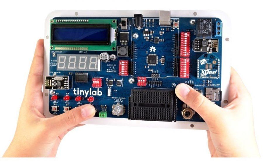 Arduino Kit Tinylab - bastlírna sbalená na cesty