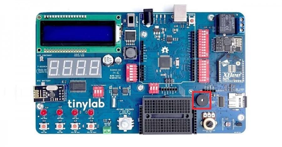 Arduino TinyLab kit - Piezo bzučák