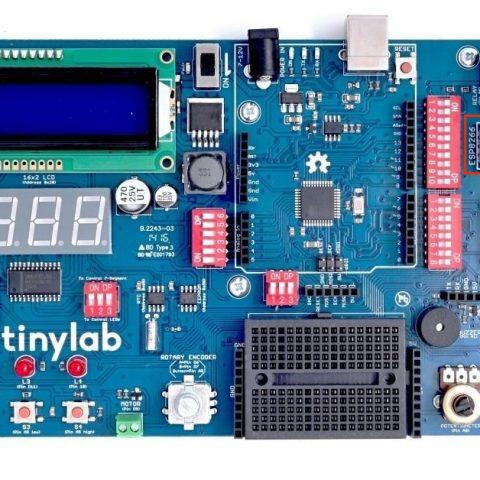 TinyLab s ESP8266 wifi modulem