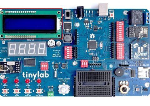 Arduino Kit TinyLab: LCD displej