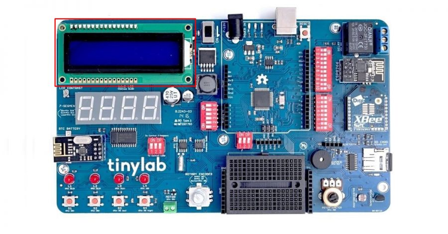 Arduino Kit TinyLab: LCD displej