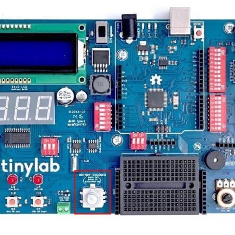 Arduino kit TinyLab - Rotační enkodér