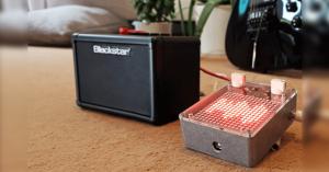 Arduino kytarový pedál