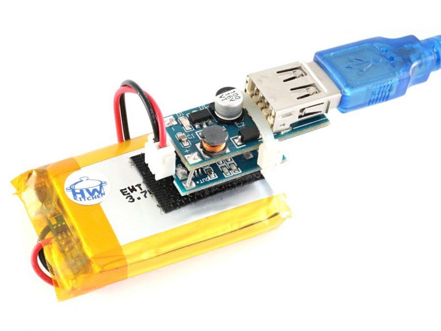 Arduino lampión - zálohovaný napájecí zdroj