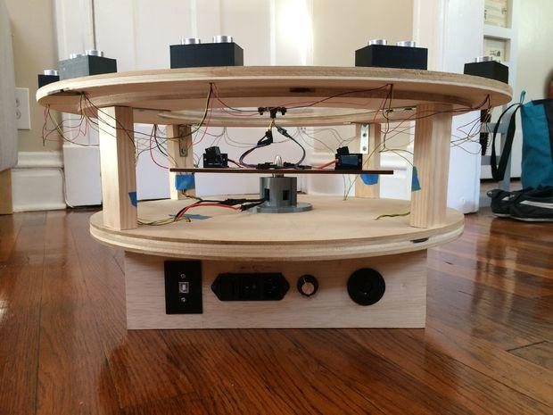 Arduino Laserová interaktivní show