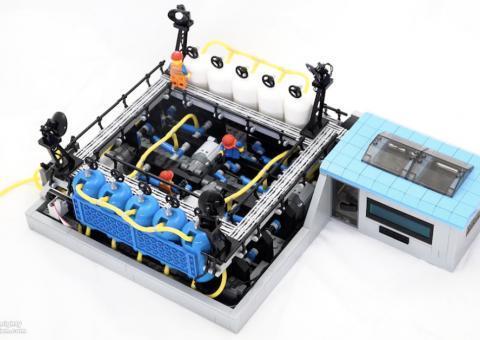 Arduino Lego Kompresor