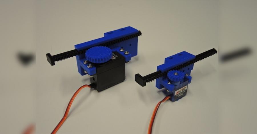 Arduino lineární aktuátor