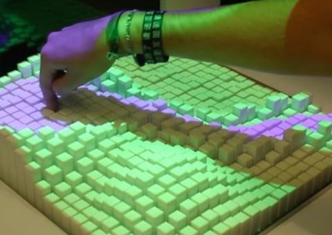 Arduino pohyblivé rozhraní