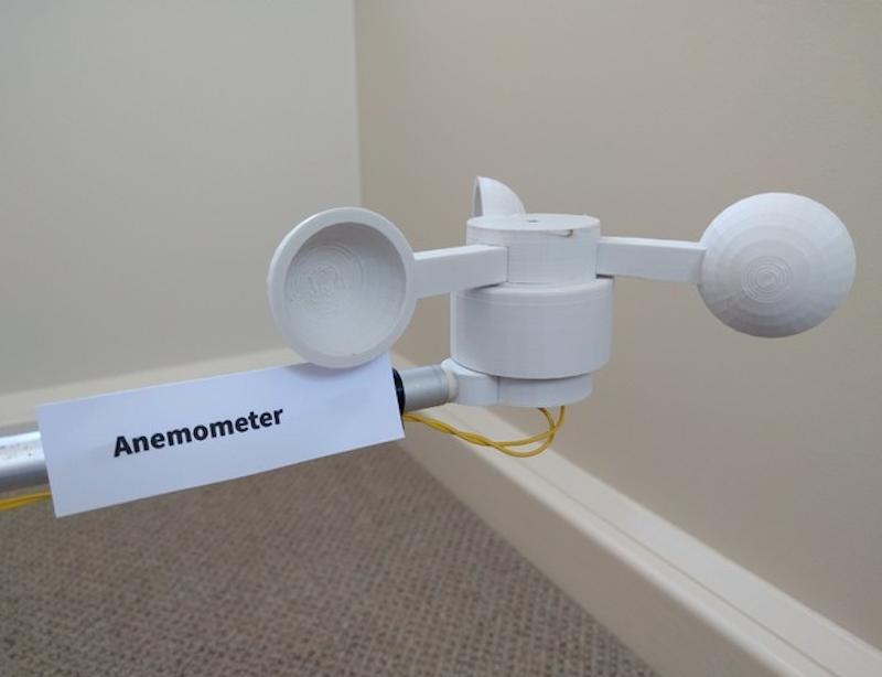 Arduino meteostanice vytištěná na 3D tiskárně