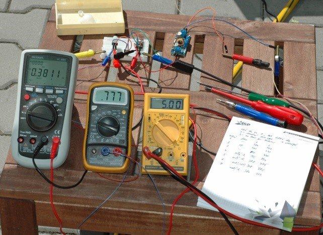 Arduino meteostanice WeatherDuino - Analýza materiálů
