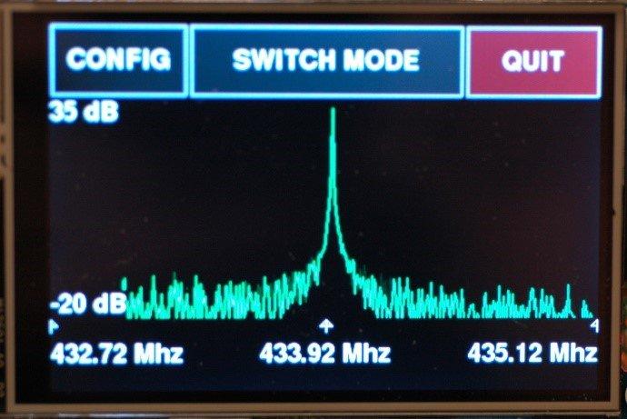 Arduino meteostanice WeatherDuino - RTL-SDR analyzátor