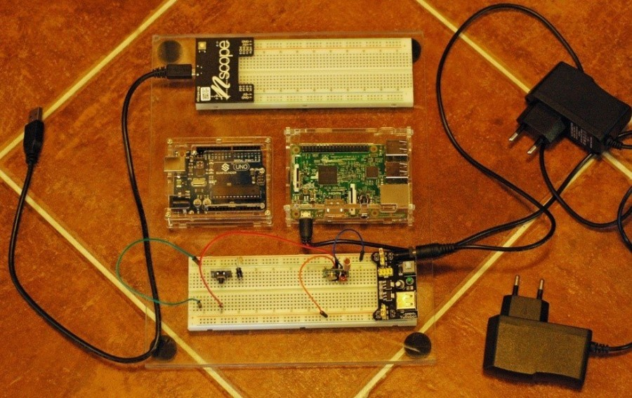 Arduino meteostanice WeatherDuino - Testovací souprava