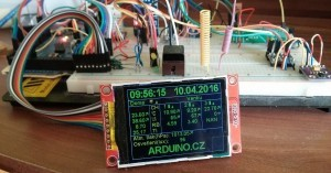 Arduino meteostanice