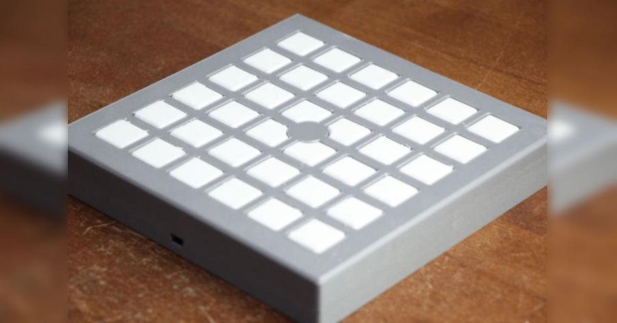 Arduino MIDI klávesnice