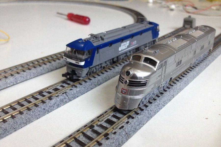 Arduino řízení modelové železnice