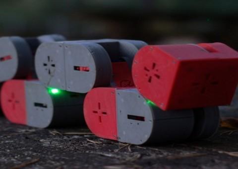 Arduino 3D tištěný modulární robot DTTO