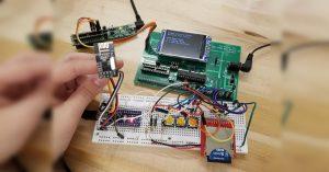 Arduino monitor spánku - Záklaní stanice
