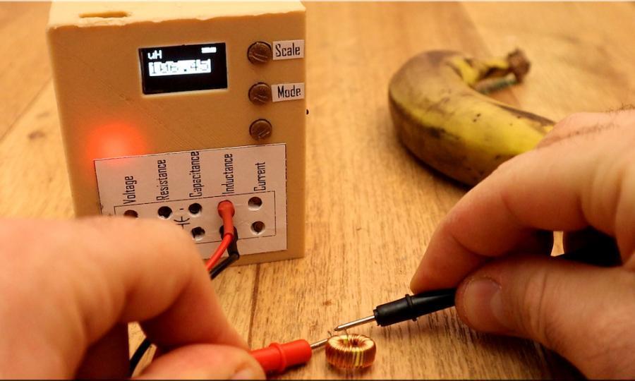 Arduino multimetr - měření induktance