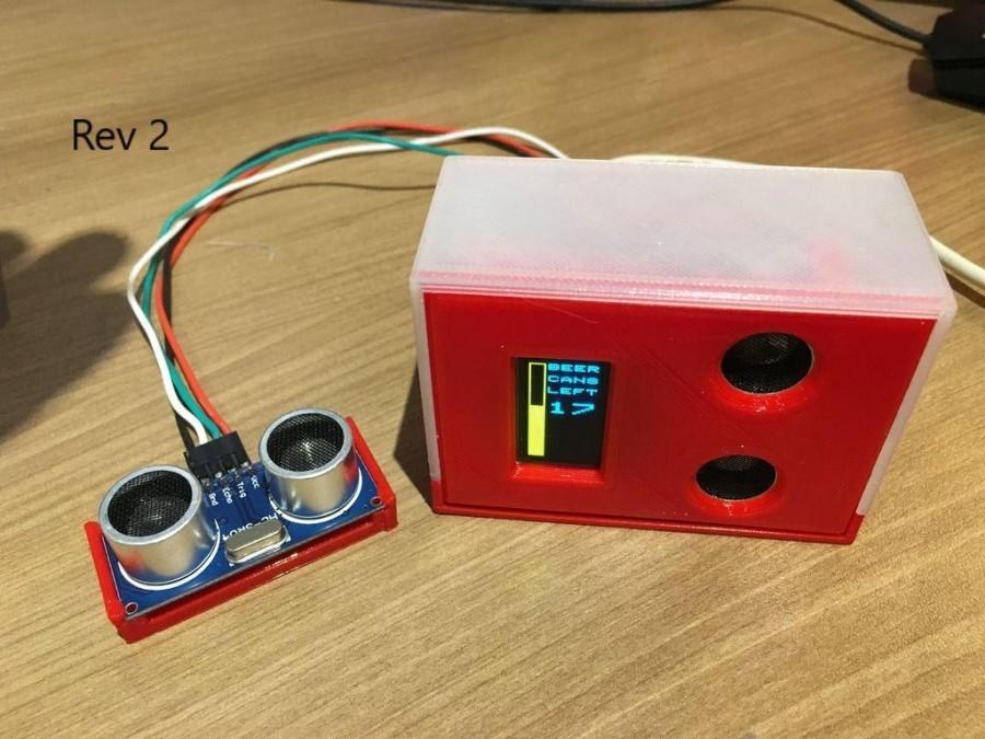 Arduino nápojový automat - Jedna z verzí systému