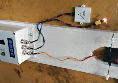 Arduino NFC vrátný