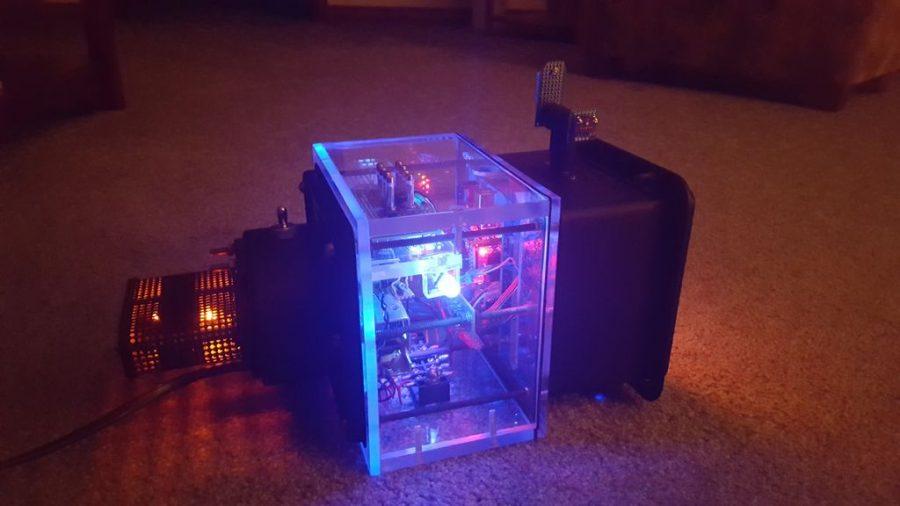 Arduino elektronkové hodiny