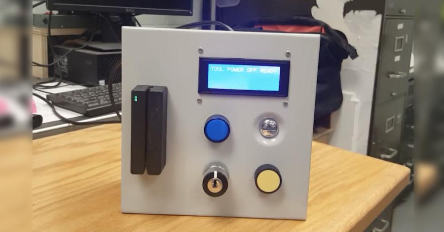 Arduino omezení přístupu k nástrojům v dílně
