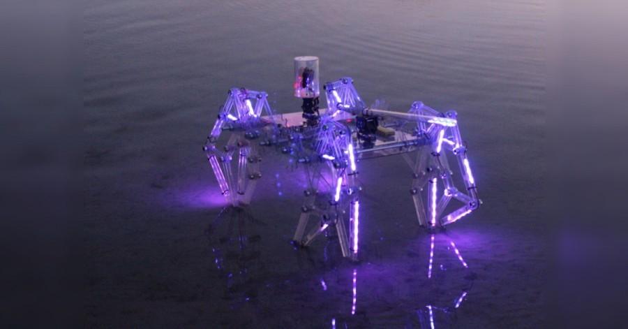 Osminohý Arduino robot