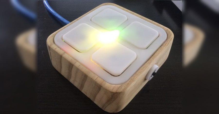 Arduino ovladač se zkratkami k aplikacím