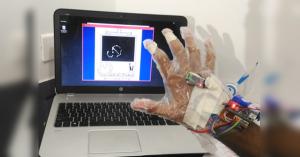 Ovládání počítače gesty pomocí Arduina a webkamery