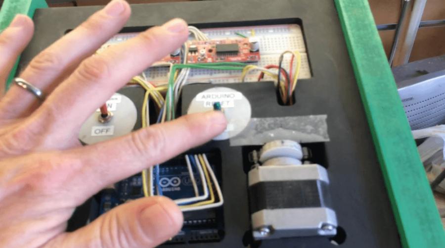 Arduino automatická pila