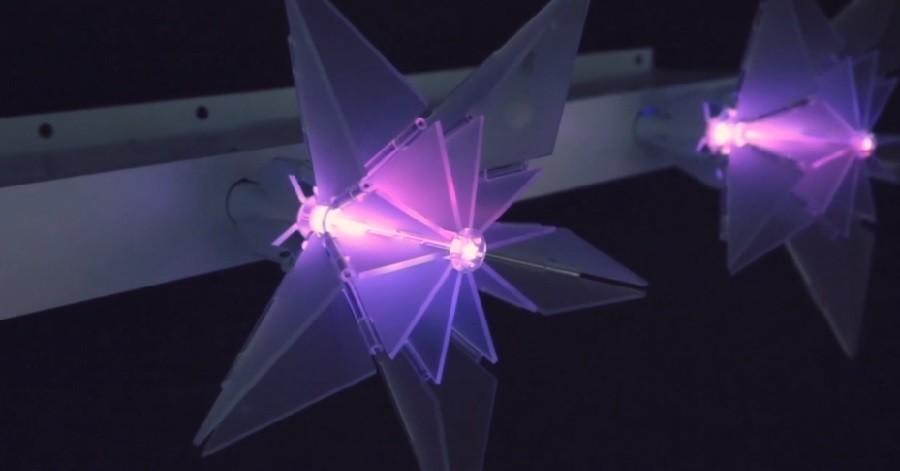 Vizualizace kvality vzduchu pomocí interaktivních Origami