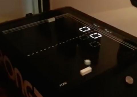 Arduino stolní verze hry Pong