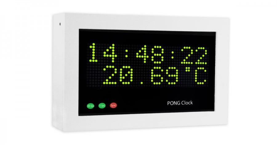 Arduino hodiny Pong