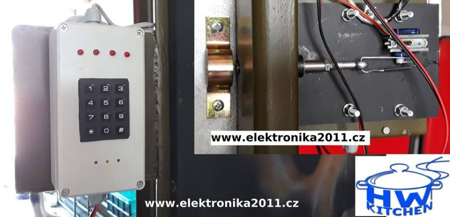 Arduino kódový zámek s Bluetooth