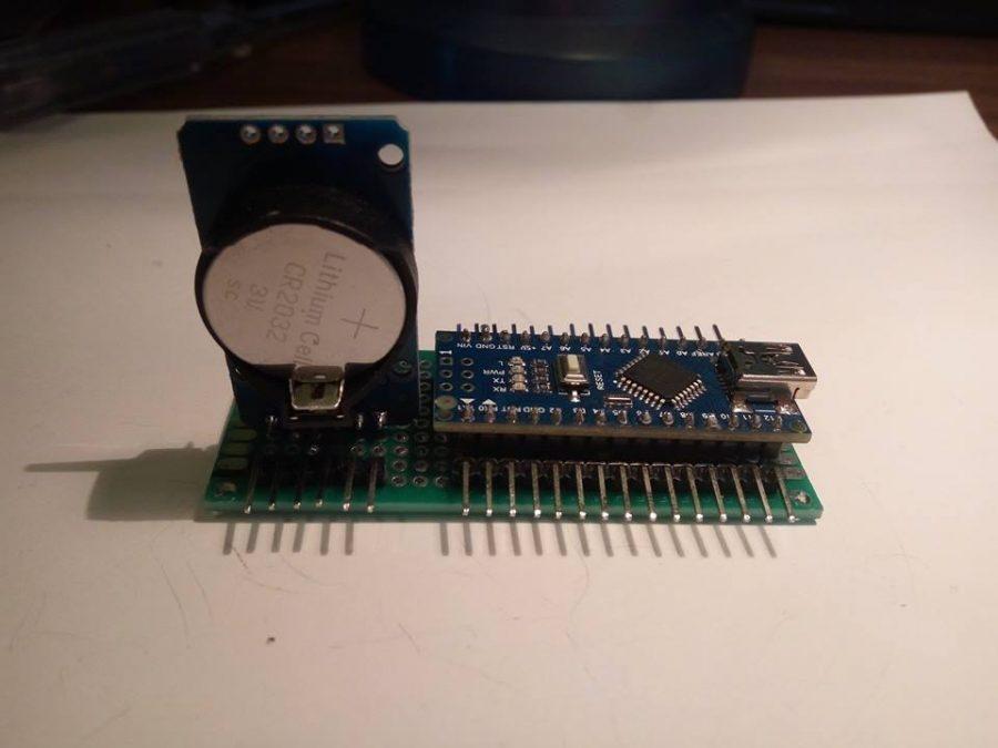 Arduino NANO s elektronikou