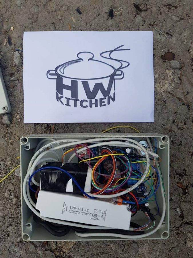 Hotový Arduino projekt s logem :)
