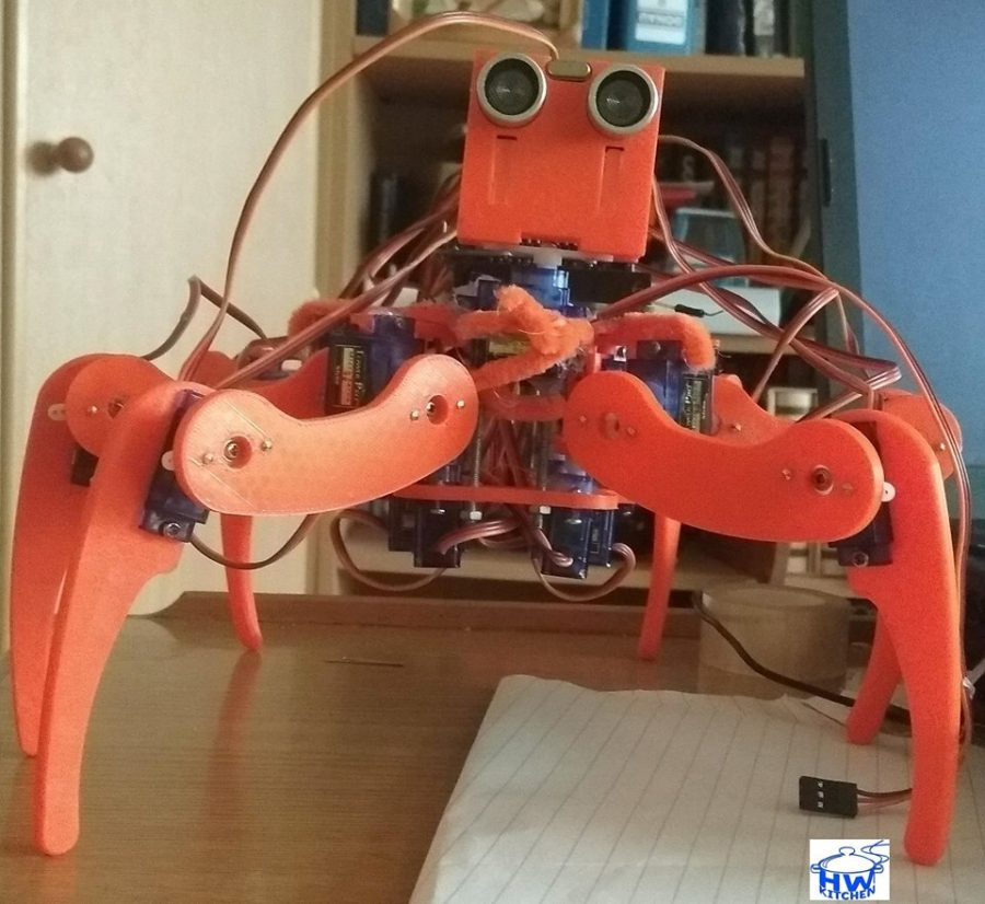 Pavouk Arný s Arduinem