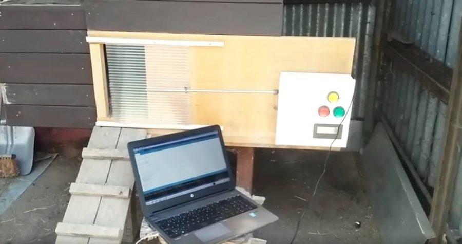 Dálkové ovládání kurníku s Arduinem