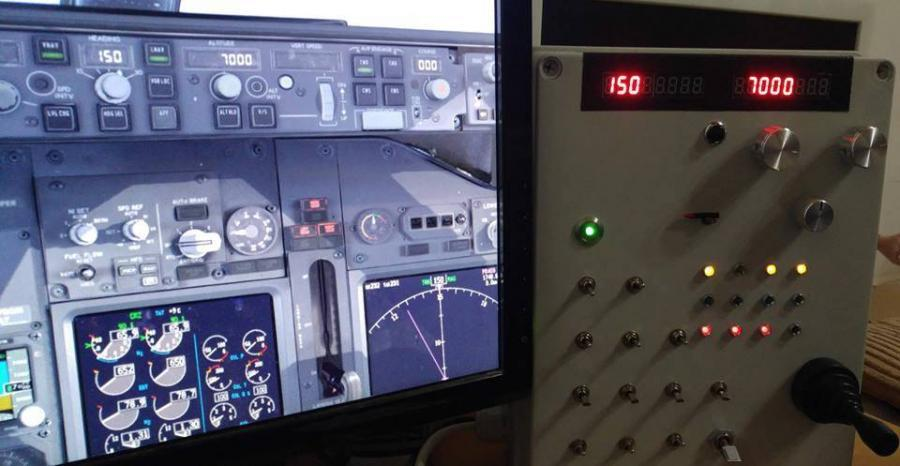 Pohled na ovládací panel