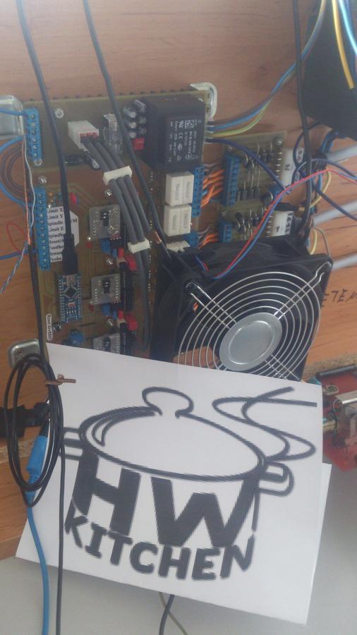 Zapojení elektroniky projektu