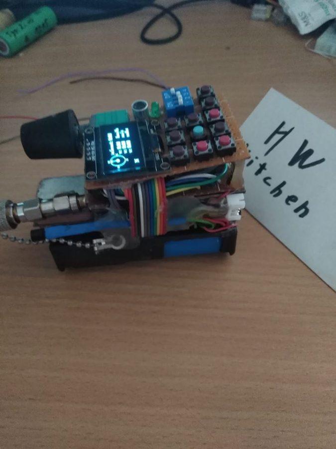Detail konstrukce Arduino projektu