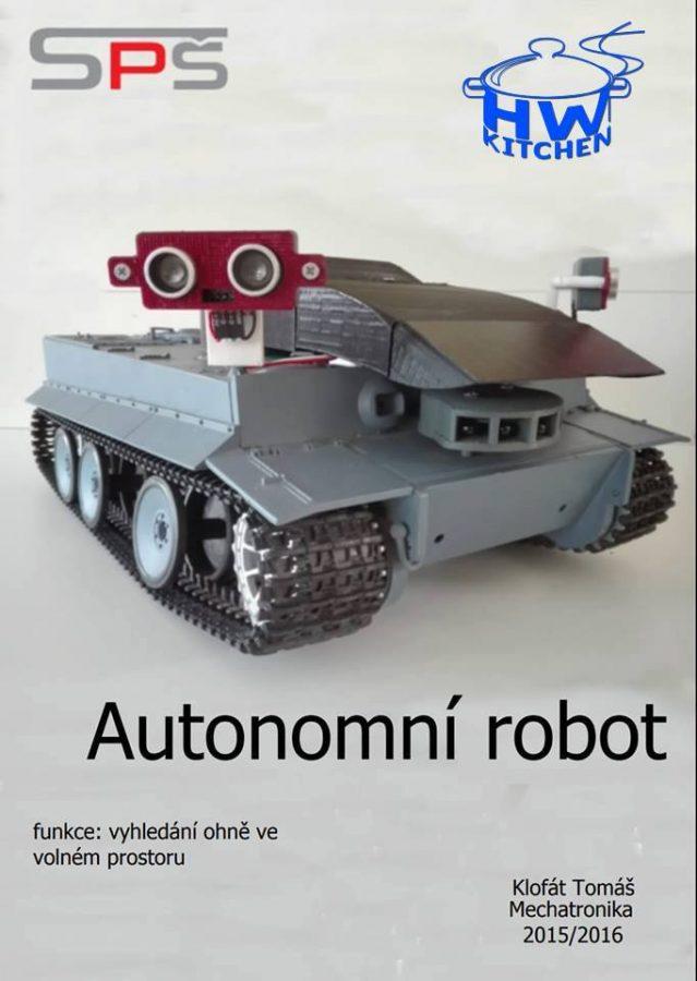 Robot Firefighter s Arduinem