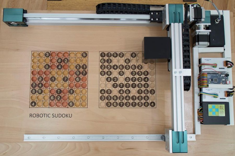 Robotické sudoku s Arduinem