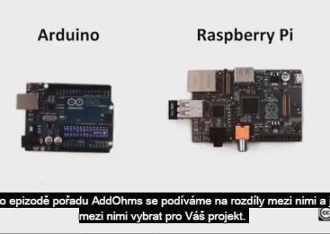 Rozdíly mezi Arduinem a Raspberry Pi.